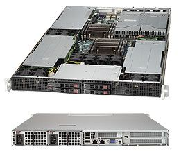 REFURBISHED Supermicro SYS-1027GR-TRFT+