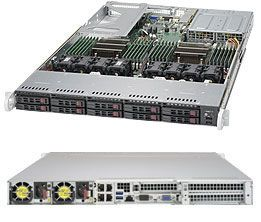 REFURBISHED Supermicro SuperServer SYS-1028U-TNRT+, Complete System Only (Black)