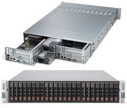 REFURBISHED Supermicro SuperServer SYS-2027TR-D70FRF Two Node Dual LGA2011